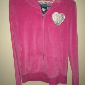 PINK Victoria Secret velvet sweatshirt
